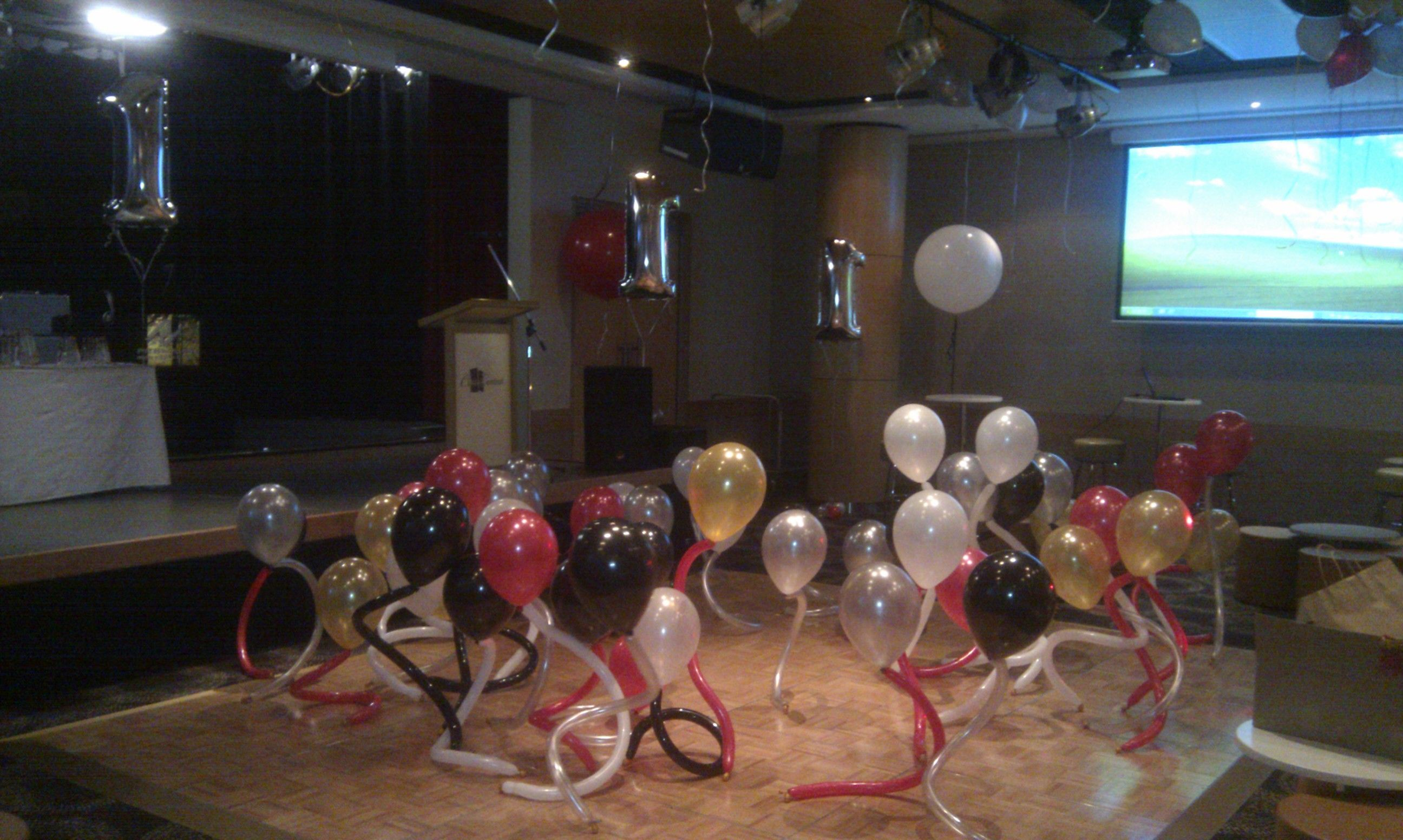 Corporate 1st Anniversary Party Watch Those Balloons Raging