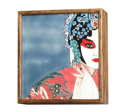 Framed Painting of Chinese Opera