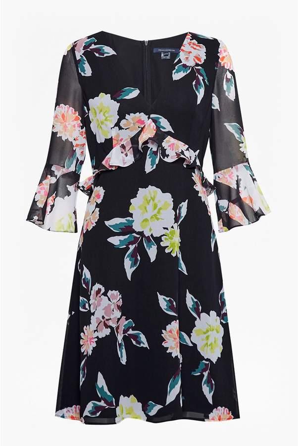 ee22b6db06b French Connection Enoshima Drape V-Neck Dress | Products | Dresses ...