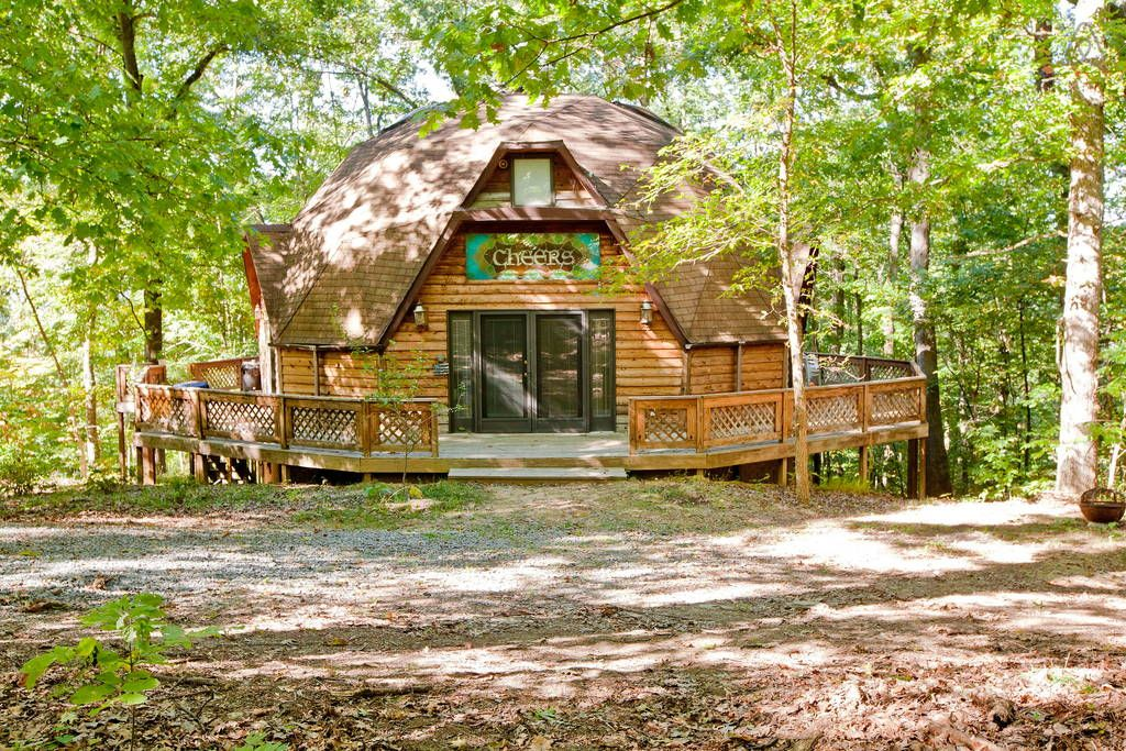 Check out this awesome listing on Airbnb: Dome of your dreams! - Earth Houses for Rent in Harpers Ferry