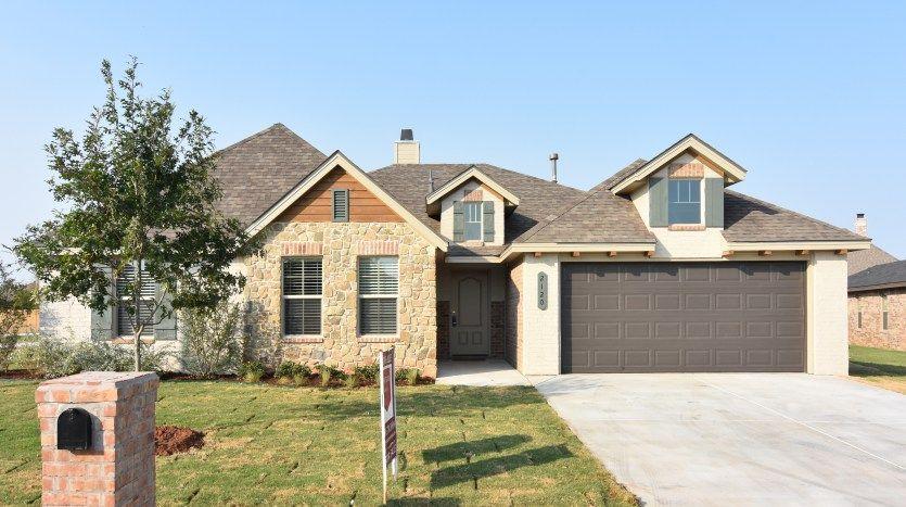 Ventura Homes Lubbock TX exterior design in Fox Ridge – Fox Ridge Homes Floor Plans