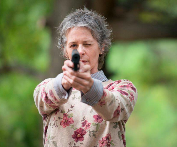 Carol is the true definition of a wolf in sheep's clothing. Our unassuming zombie slaying queen. Make America great again, Carol. | We Need To Talk About Carol