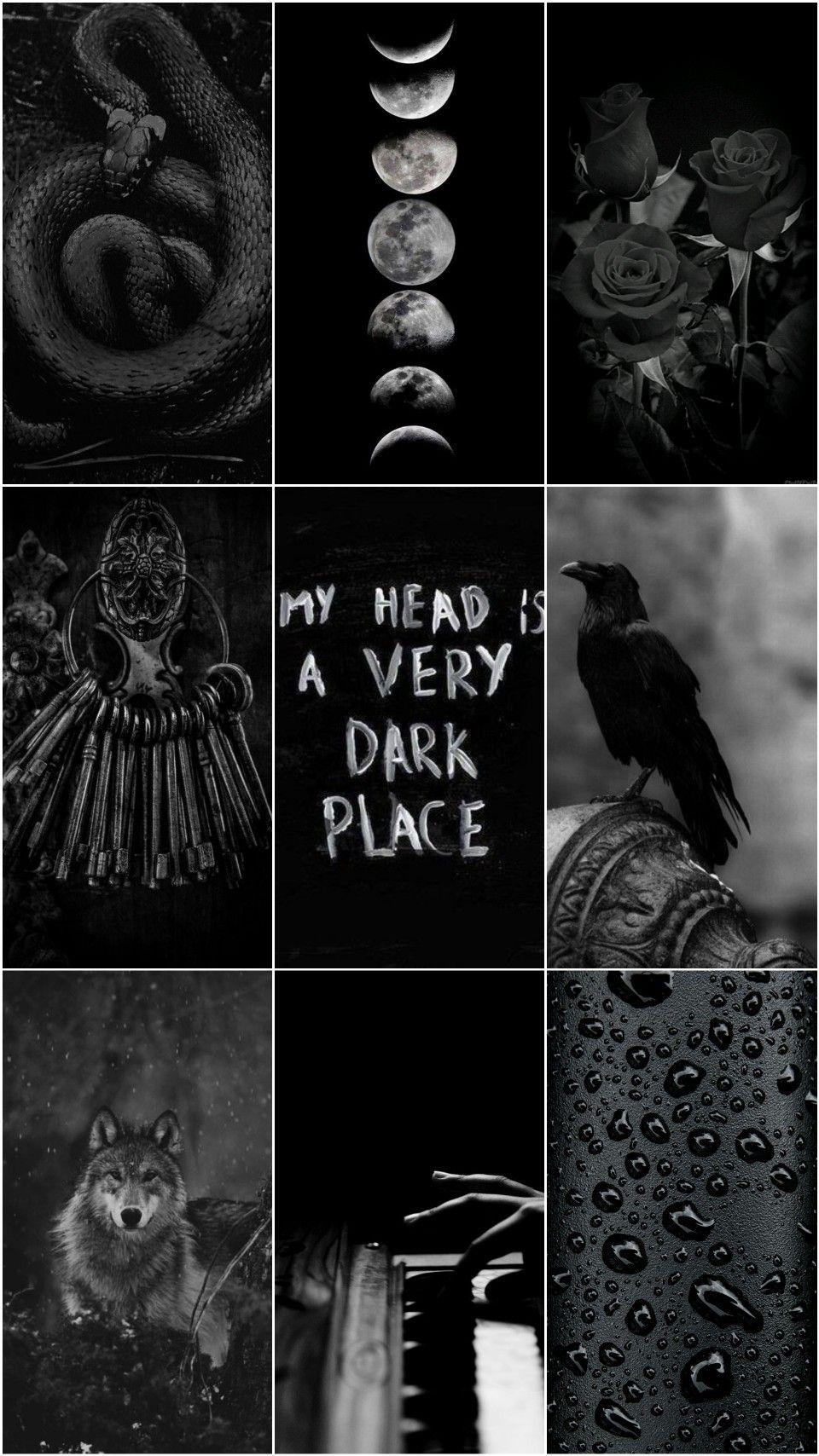 Dark Black Emo Wallpaper Aesthetic Emo Wallpaper Aesthetic Wallpapers Wallpaper
