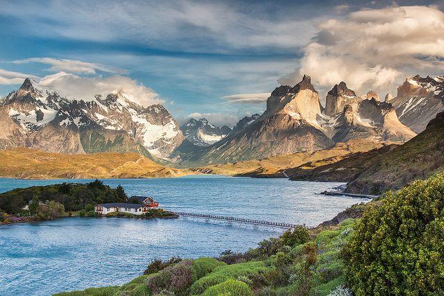 Torres del Paine Sunrise by glness, via Flickr