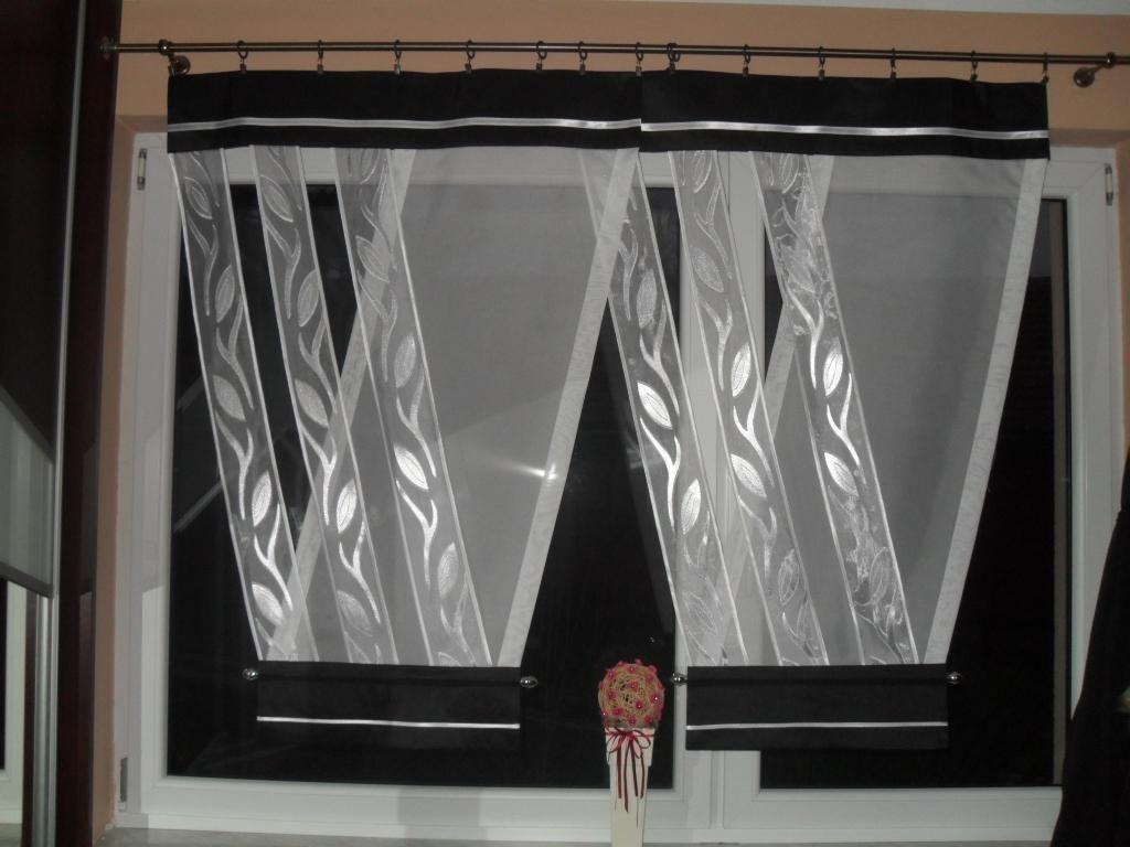 Pin Na Firany Wystrój Okna Curtains