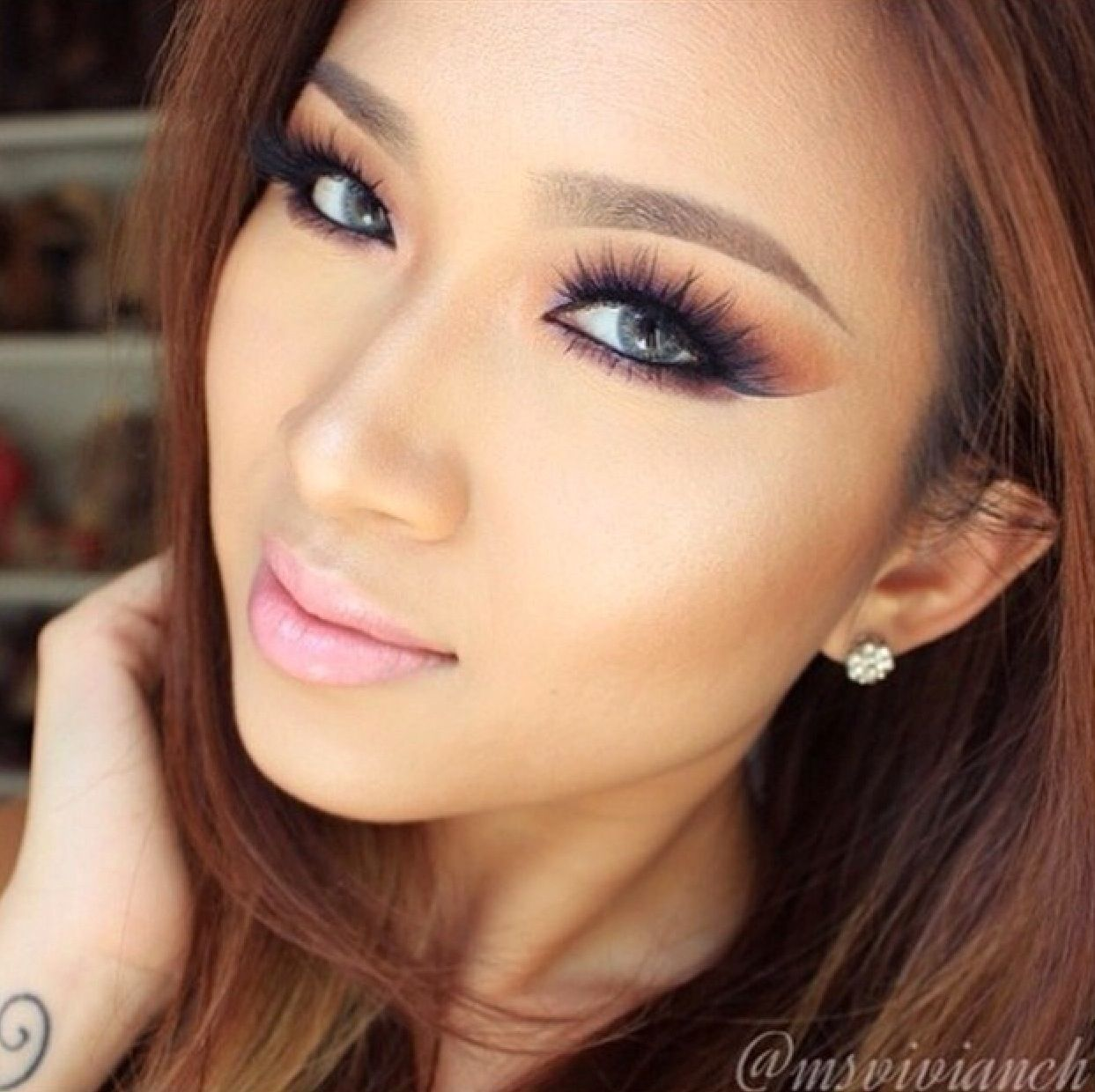 Pin by caitlin johnson on Makeup Iconic lashes, Smile