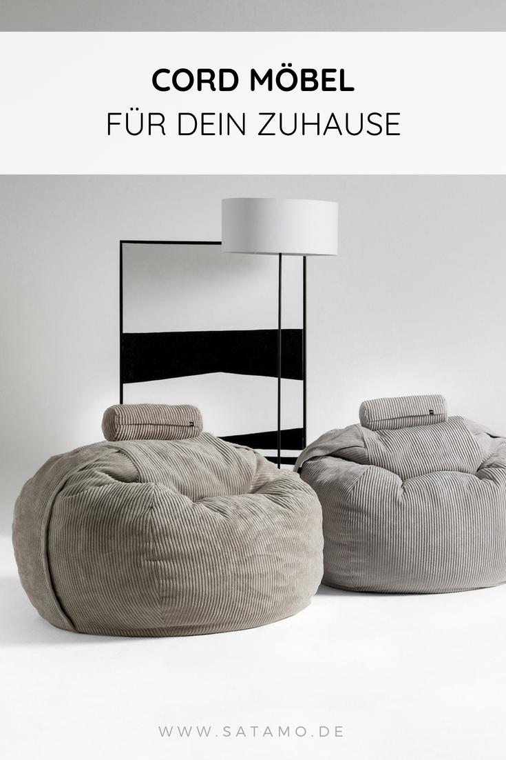 Cord Möbel Sind Wieder Voll Im Trend! Entdecke Den Vetsak Sitzsack CORD In  Angesagten Farben