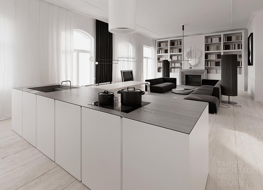 If You Are Crazy About Monochrome Interiors Then This Mammoth Classy Black And White Kitchen Designs Decorating Inspiration