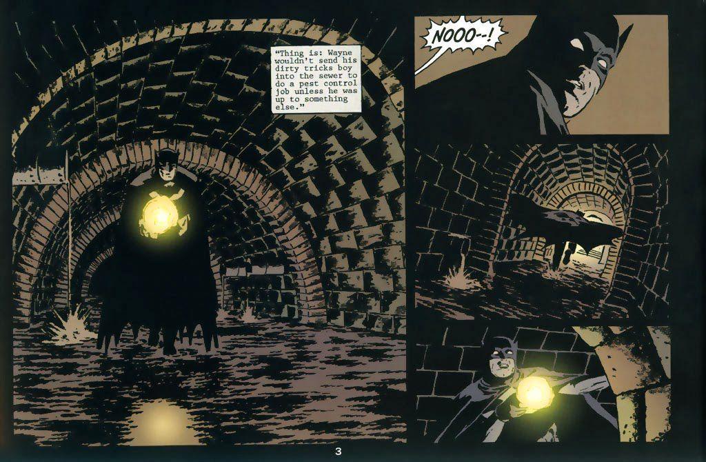 Batman Nueve Vidas Interior Reseña