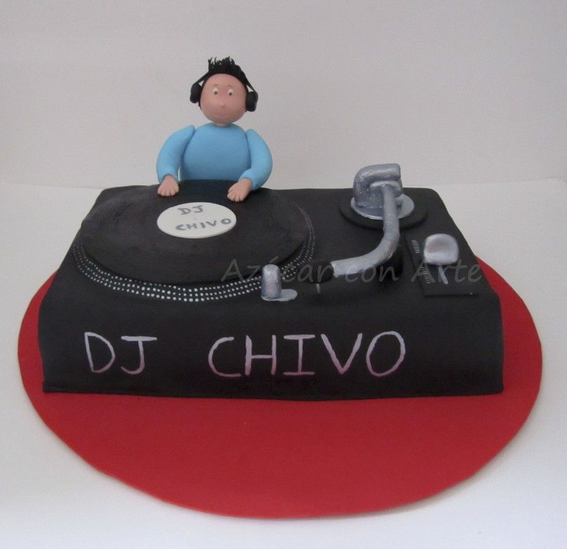 Tarta para Dj Chivo