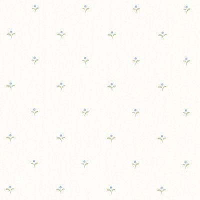 "Brewster Home Fashions Dollhouse Denise 33' x 20.5"" Floral and Botanical 3D Embossed Wallpaper Color:"