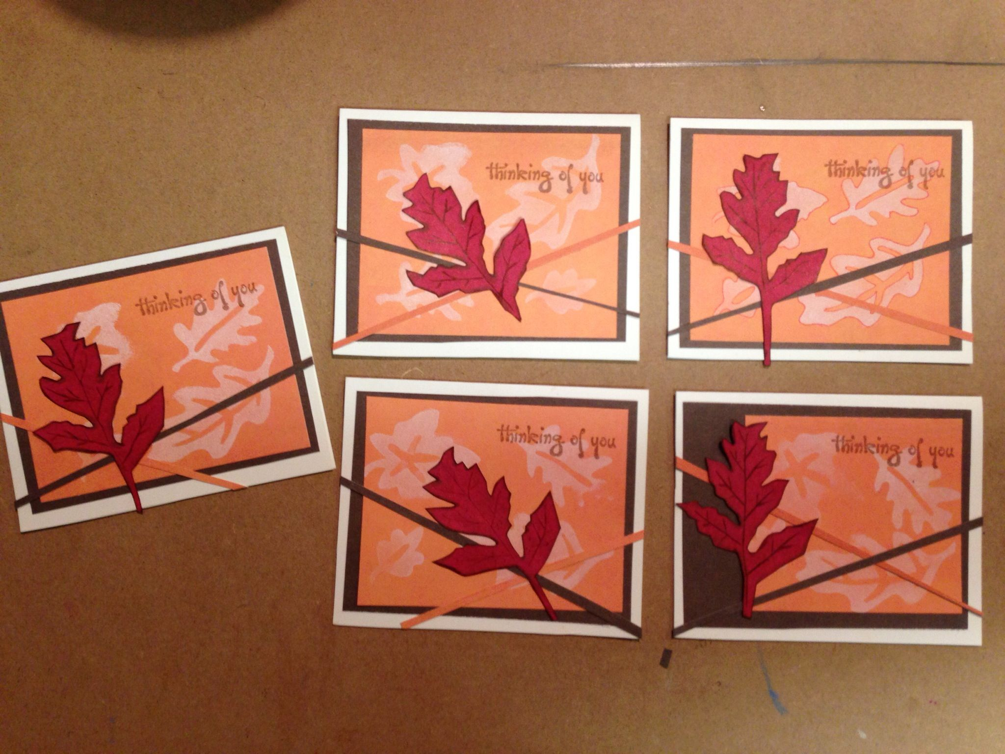 How to Make a Fun Fall Card