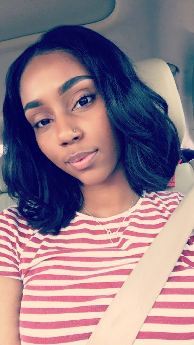 middle part bob black hairstyles