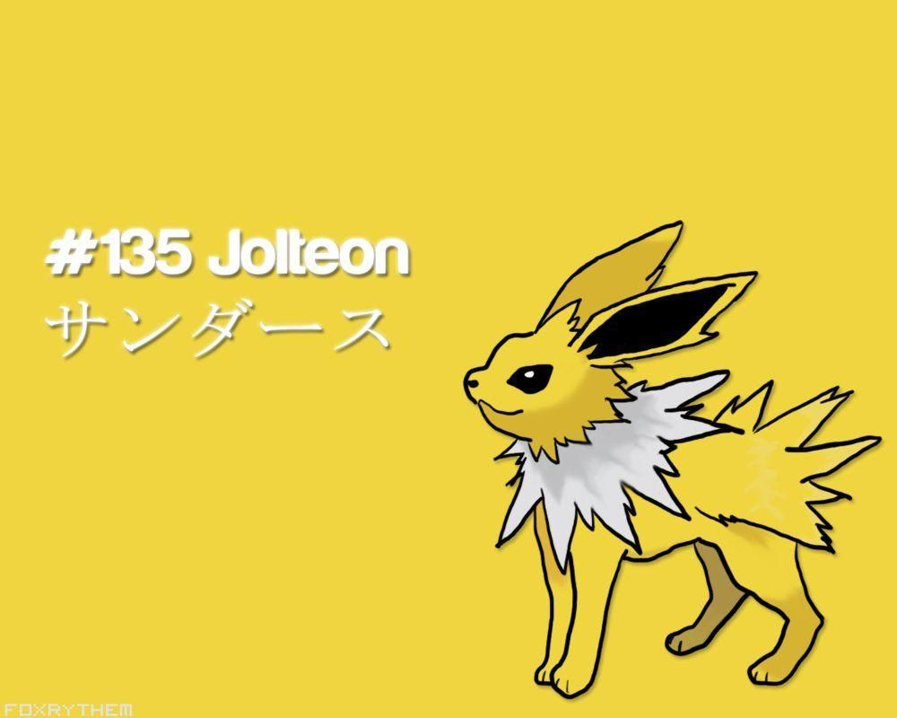 Pokemon Jolteon Lightning Pokemon Hd Wallpaper In 2020 Hd Wallpaper Wallpaper Pokemon