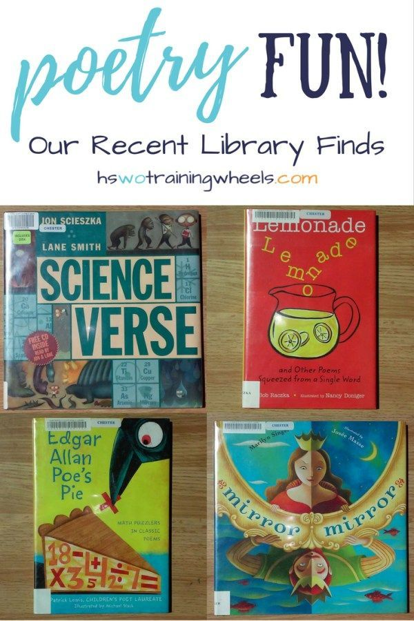 100 Poetry Books For Kids Poetry Books For Kids Poetry For Kids