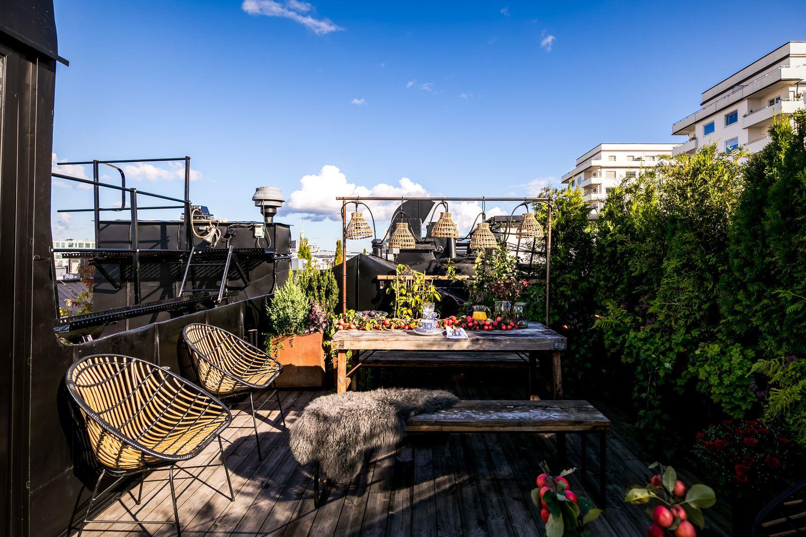 Un incroyable appartement de style penthouse avec vue sur les toits – PLANETE DECO a homes world