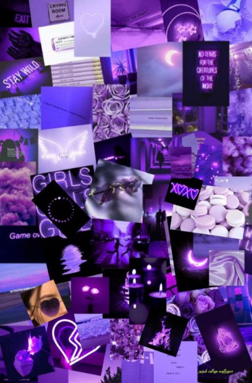 Tons of awesome purple aesthetic collage wallpapers to download for free. Heres What Industry Insiders Say About Purple Collage ...