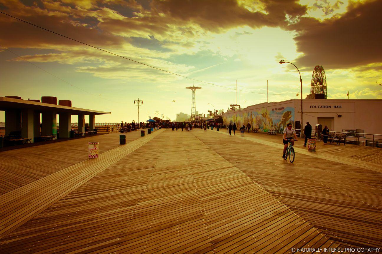 Coney Island Boardwalk, Brooklyn New York