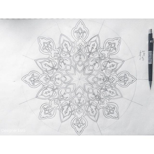 Instagram photo by @designeresra via ink361.com | Dibujos Árabes ...