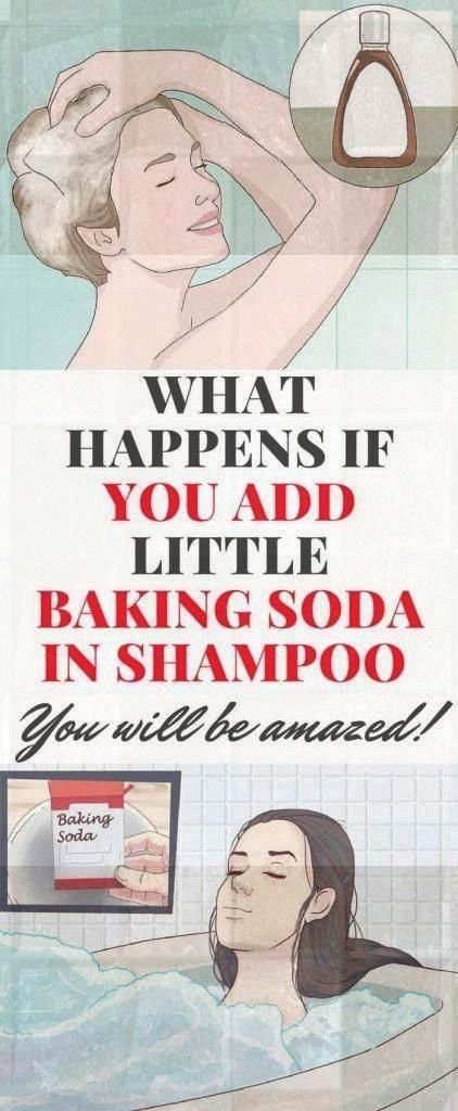 HAPPENS IF YOU ADD LITTLE BAKING SODA IN SHAMPOO YOU WILL BE AMAZEDWHAT HAPPENS IF YOU ADD LITTLE BAKING SODA IN SHAMPOO YOU WILL BE AMAZED Mix these oils for quick hair...