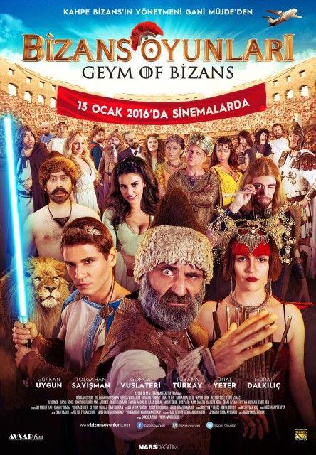 Bizans Oyunlari 2016 Yerli Film Komedi Filmleri Film Film Posteri