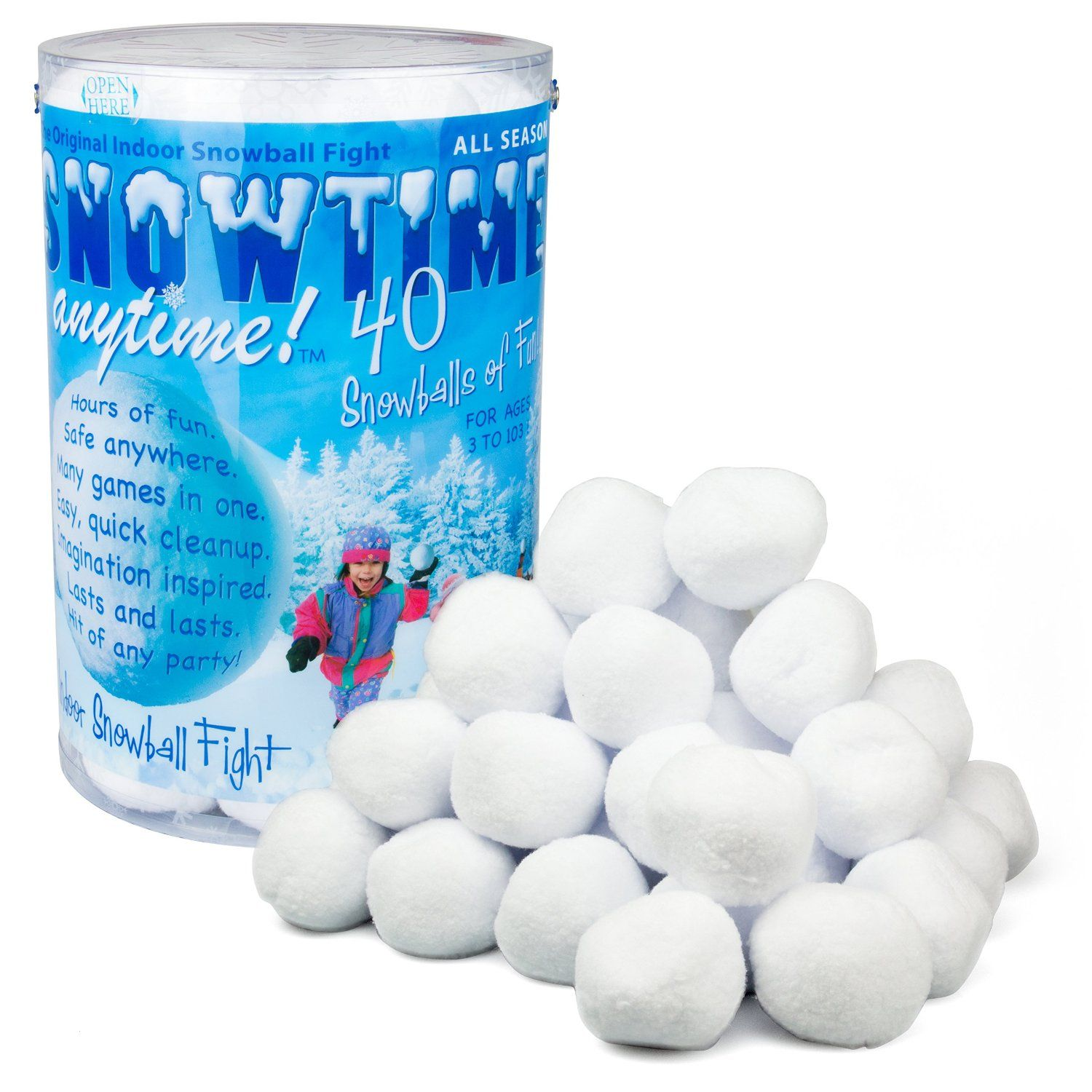 Snowtime Anytime Lets You Have A Snowball Fight Anytime, Anywhere ...