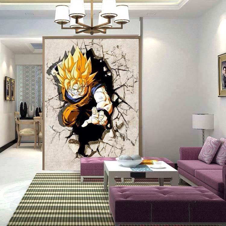 Dragon Ball Décoration Salon Decoração Decoração De