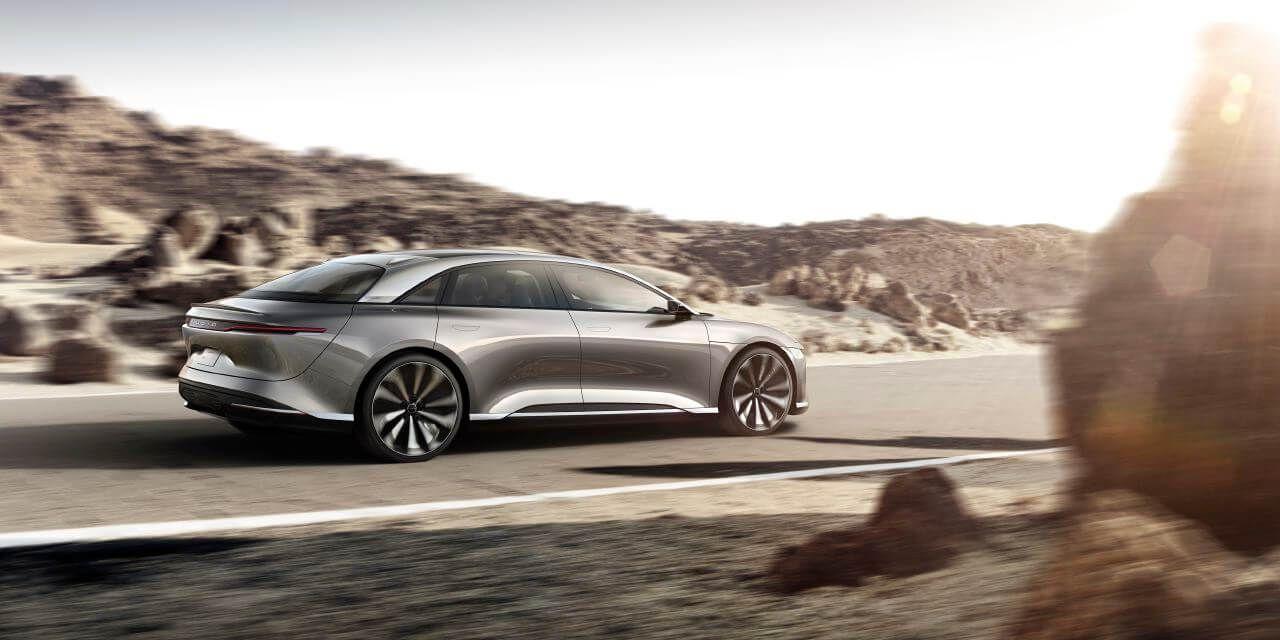 Lucid Motors Reveals Air Its First Luxury Vehicle Voiture Electrique Voiture Electro