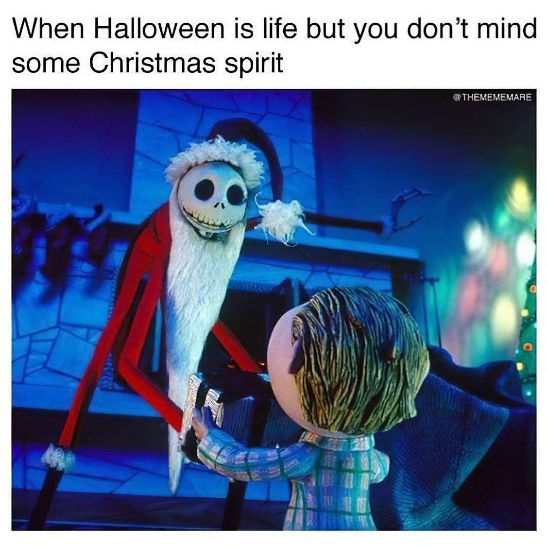 Nightmare Before Christmas Memes Christmas memes