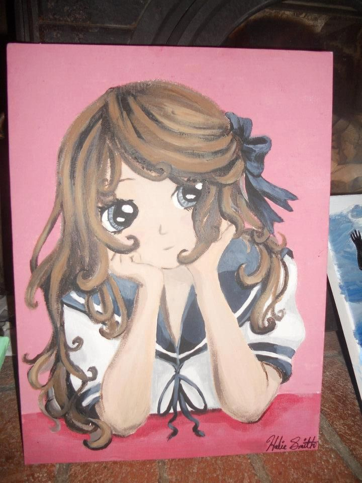 19+ Anime painting canvas tutorial trends