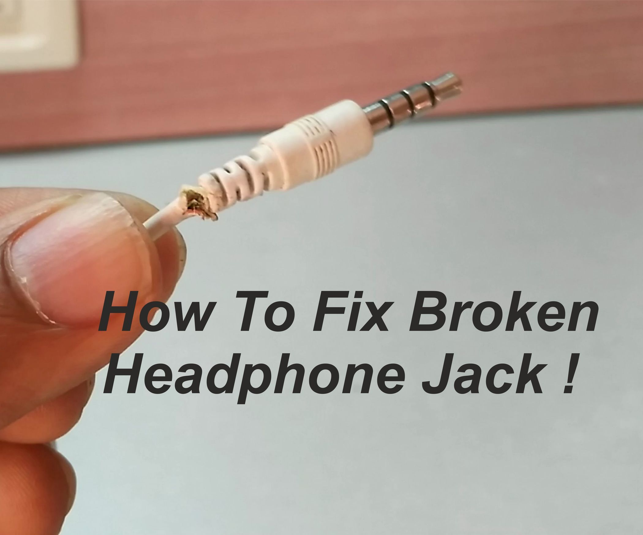How to Fix Broken Headphone Jack ! | Pinterest | Headphones