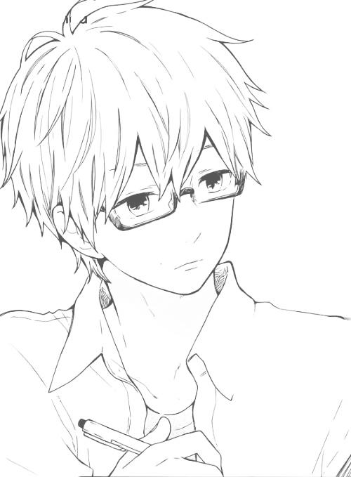 Entdecke Und Teile Die Wunderschonsten Bilder Aus Aller Welt Anime Glasses Boy Anime Drawings Anime Guys With Glasses