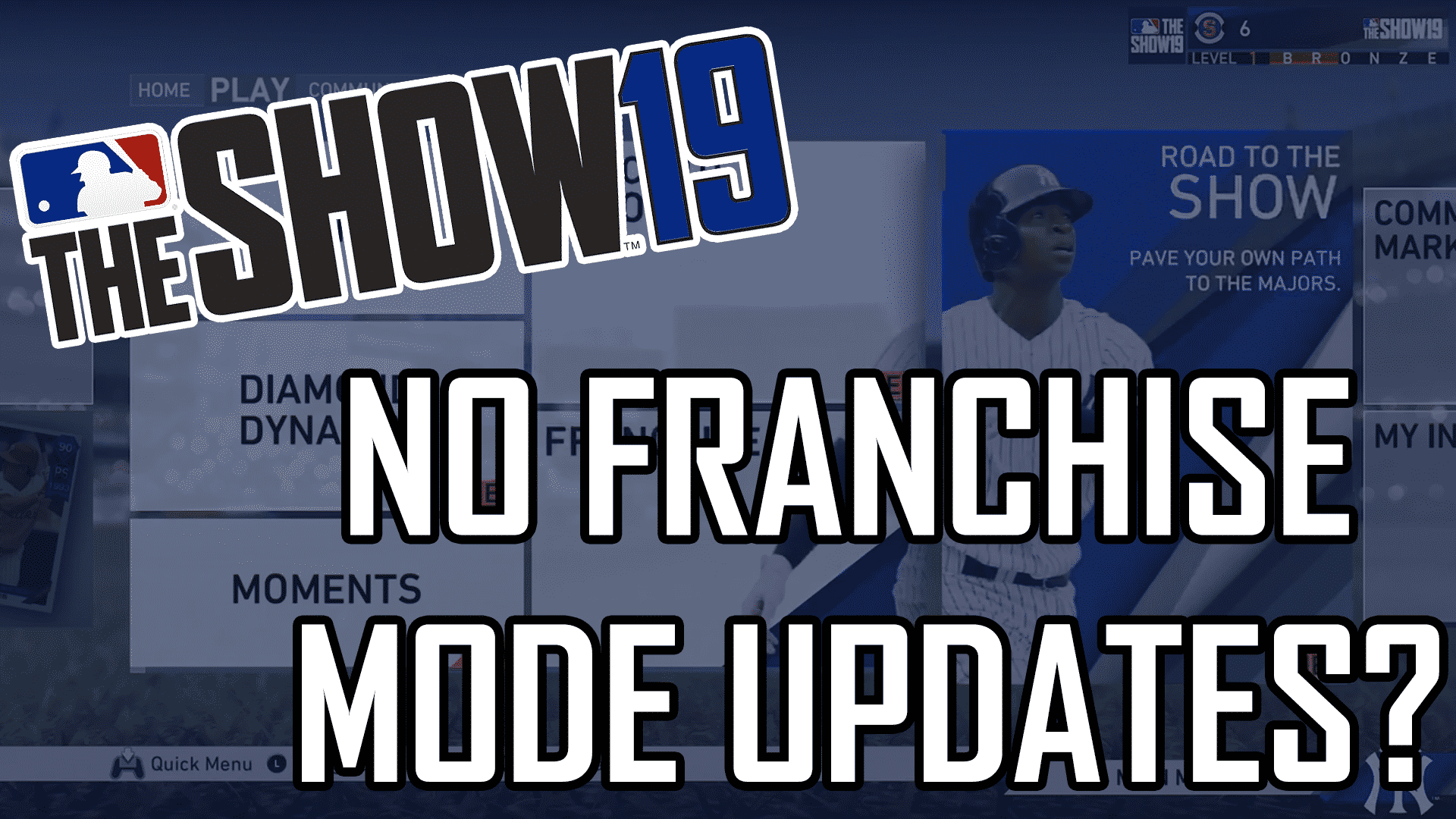 Mlb The Show 19 No New Franchise Features Sports Gamers Online Mlb The Show Online Franchise Mlb