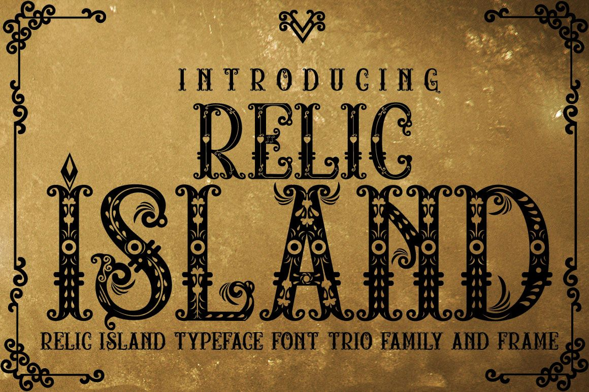 Relic Island Font By Jehansyah251 Creative Fabrica Font Bundles Gothic Fonts Christmas Fonts