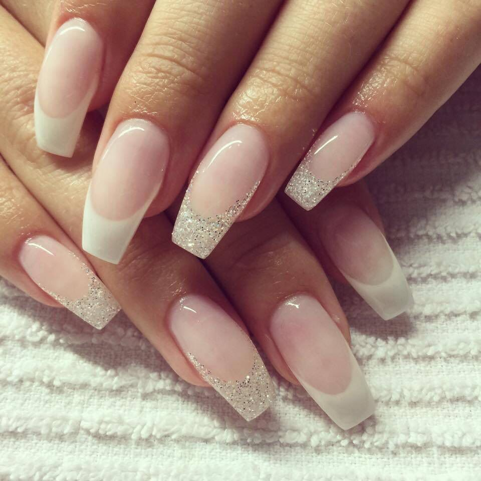Nails french n gel pinterest nageldesign - Pinterest nageldesign ...
