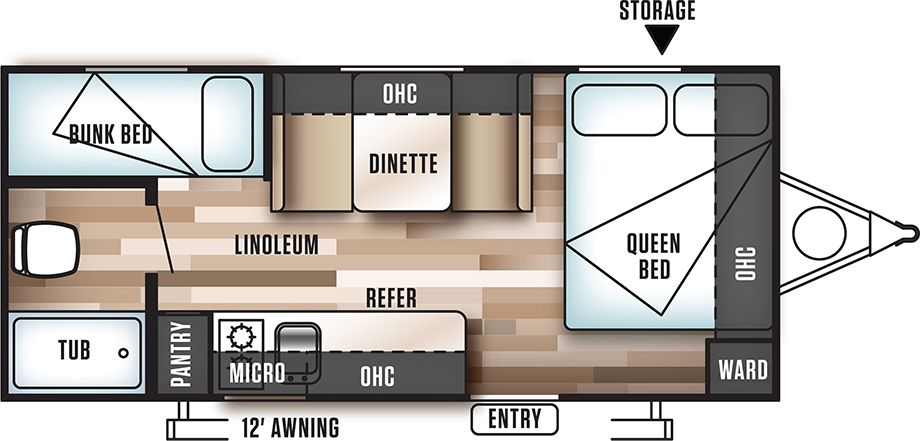 50 2 Bedroom Rv Floor Plans Wj5q di 2020