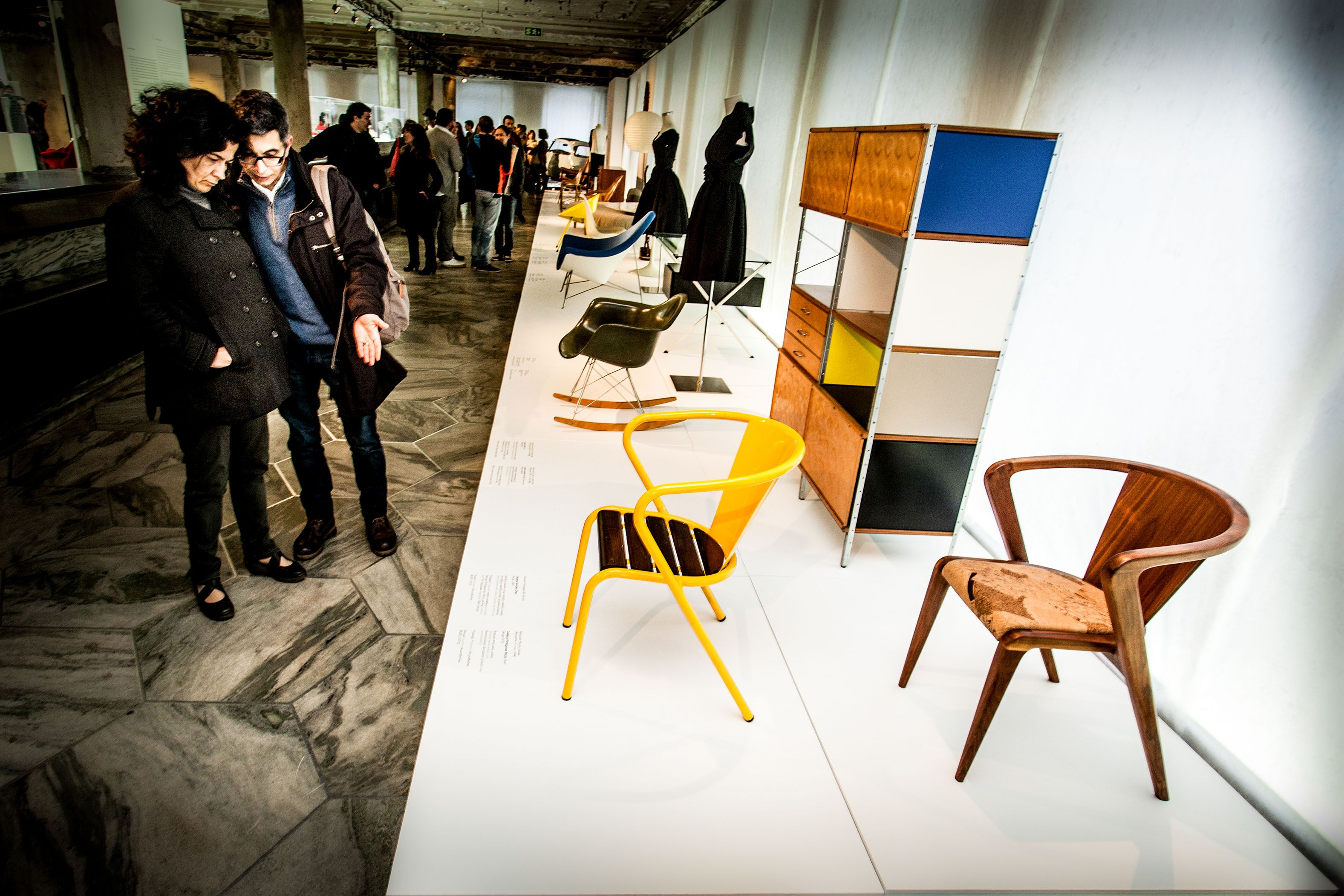 AROUNDtheTREE present at MUDE ( Portuguese National Museum of Design ) with Portguese ROOTS Chair #design #furniture #aroundthetreedesign #interiors #interiordesign