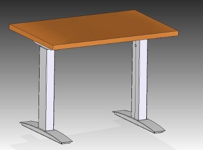 TWO LEG PIN BASE - Symmetry Office Table Solutions | Adjustable ...