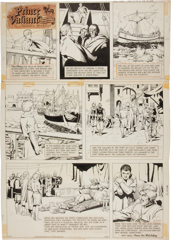 Harold Foster – El Príncipe Valiente | La princesa, Las aventuras de ...