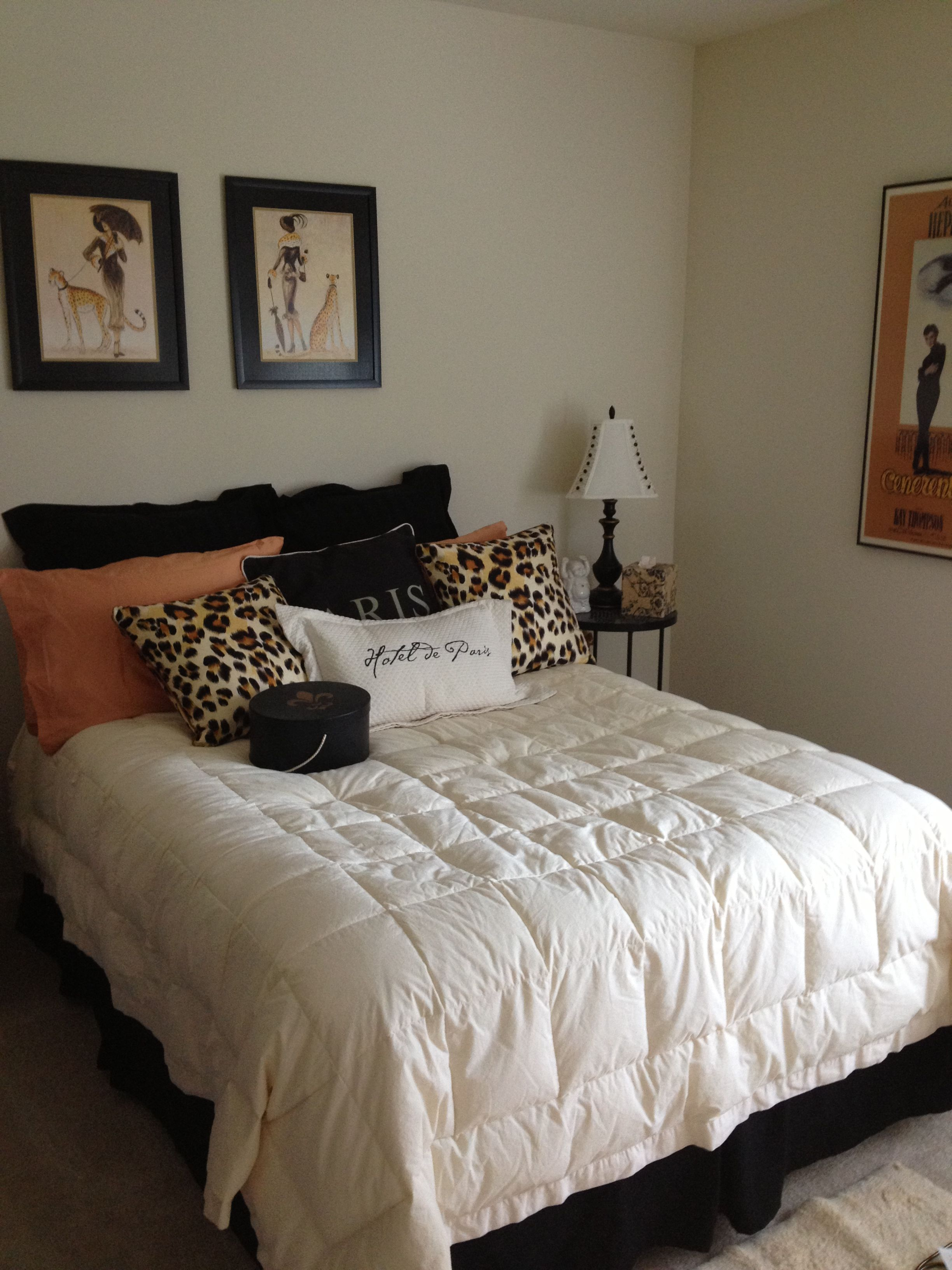 Leopard Bedroom Decor Decorating Ideas For Bedroom With Paris And Leopard Print Theme