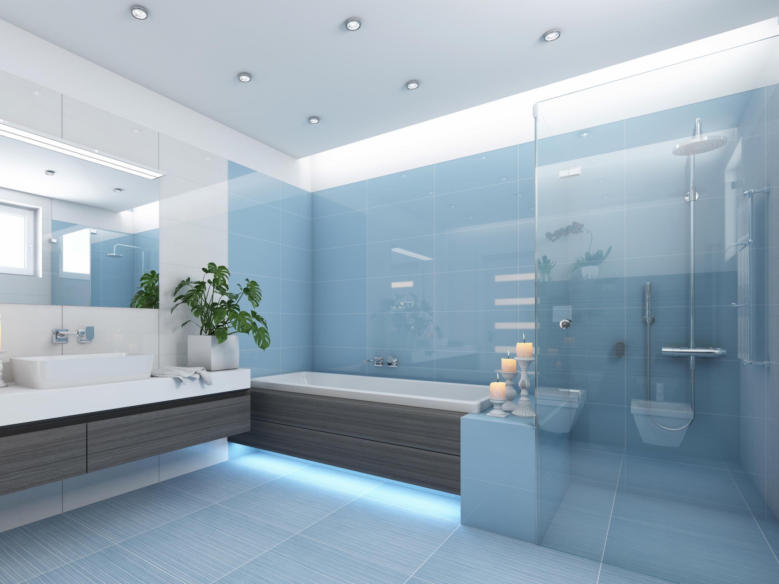Onze douchedeuren worden gemaakt van 8mm gehard glas en zijn perfect