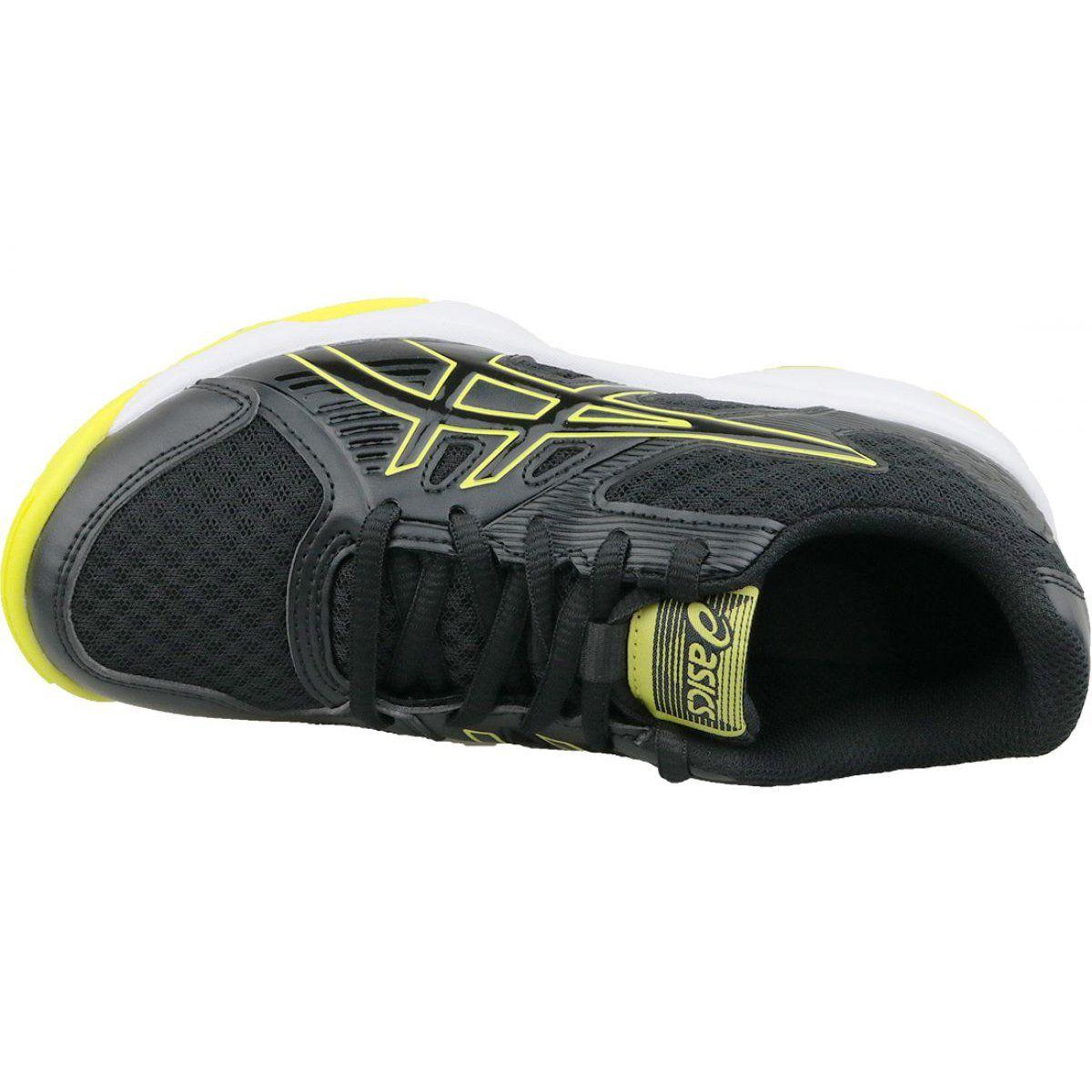 Buty Do Siatkowki Asics Upcourt 3 Gs Jr 1074a005 003 Czarne Szare Volleyball Shoes Shoes Asics