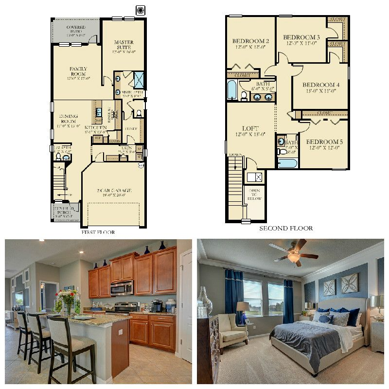 Beautiful Spacious Master Bedrooms: Our Winthrop In Trinity Lakes Offers A Spacious Kitchen