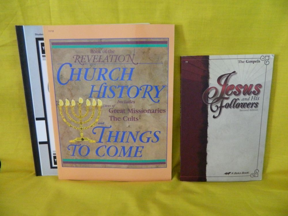 Abeka Revelation Church History Jesus And His Followers Student Bk