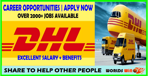 DHL jobs opportunities in Germany APPLY NOW North