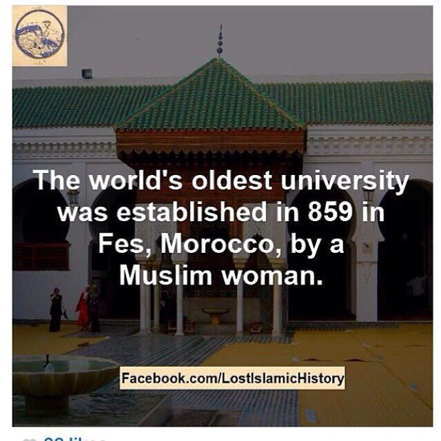 The World S Oldest University Was Established In 859 In Fes