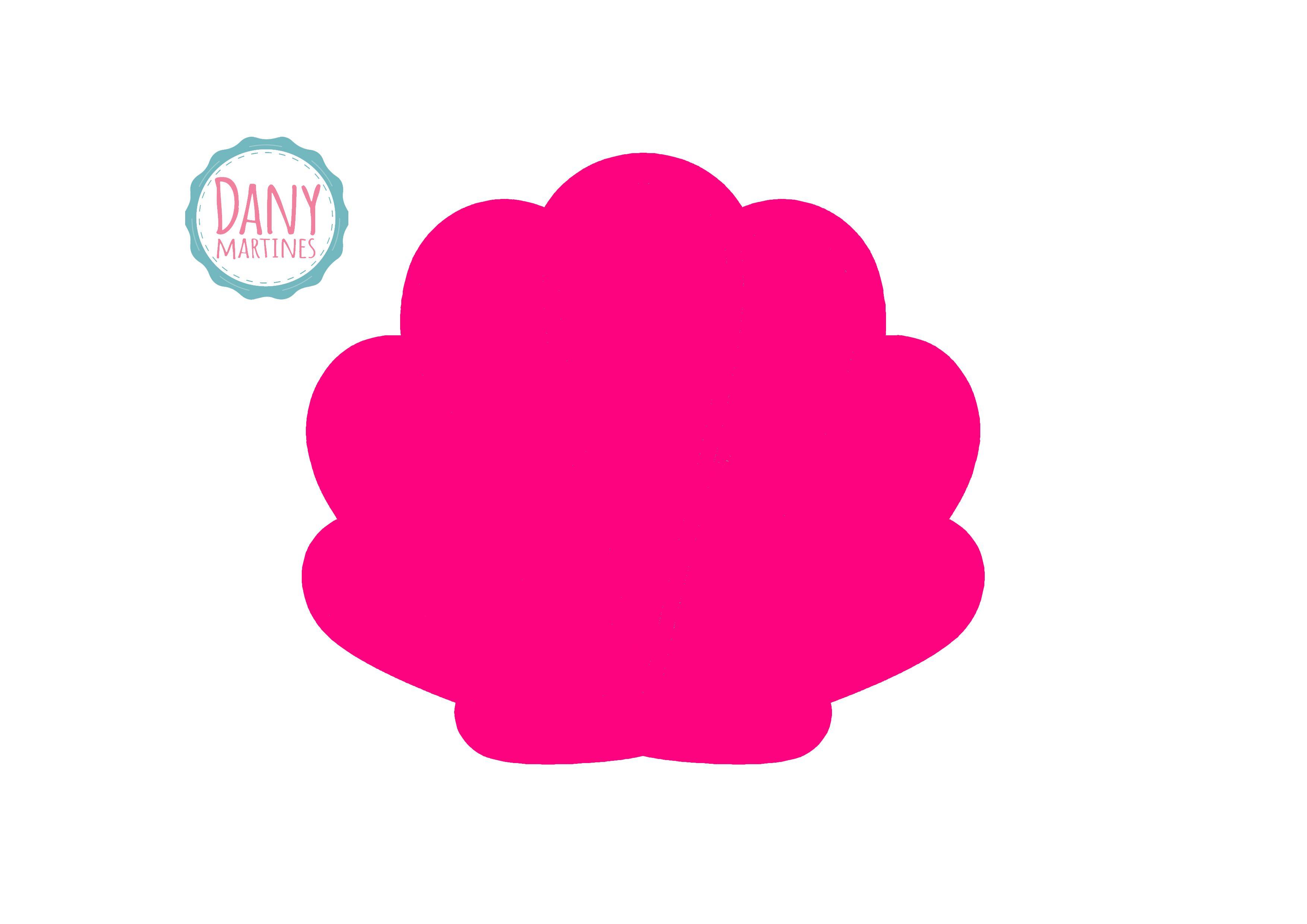 Concha Rosa para Porta Pincéis  4fea2fc0a95