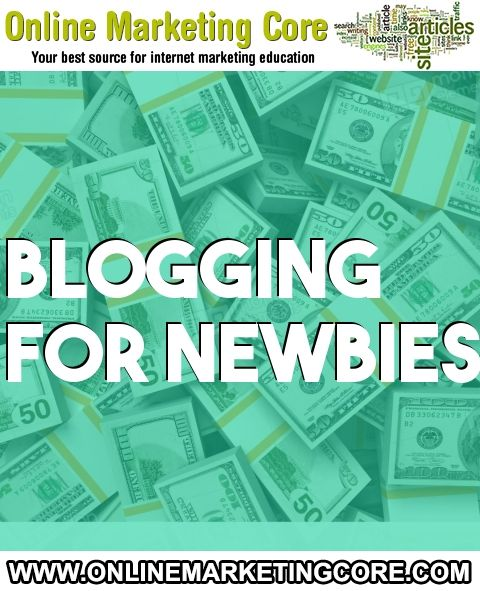 Today I would really prefer to give you a little bit of insight on which blogging system to choose for the blog It could believed that will... URL: http://blog.onlinemarketingcore.com/1018/blogging-for-newbies/ Tags: #branding #blogging