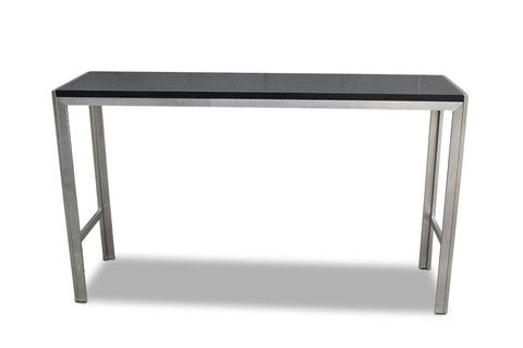 Stainless Steel bar table – Stax Chairs WA
