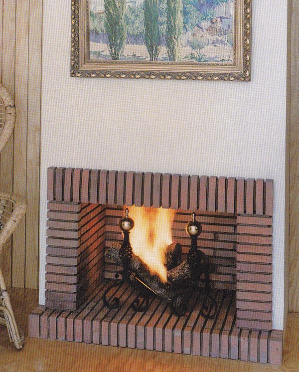 Chimeneas de ladrillo buscar con google home - Ladrillos para chimeneas ...